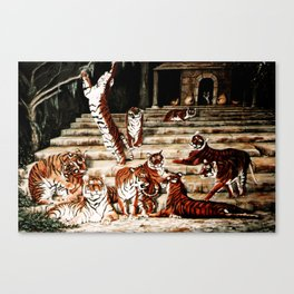 The Gathering Canvas Print