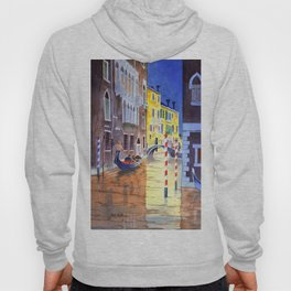 Reflections Of Venice Italy Hoody