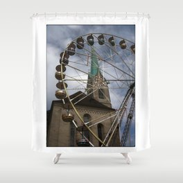 Let's fun! Shower Curtain