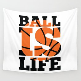 Ball is Life Wall Tapestry