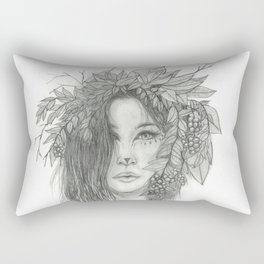 Brigid, Celtic Triple Goddess Rectangular Pillow