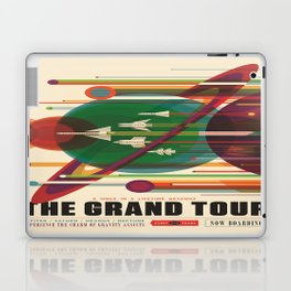 The Grand Tour : Vintage Space Poster Laptop & iPad Skin