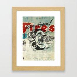 Firestone Tires Framed Art Print