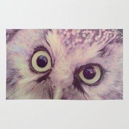 Dirty Look Owl Rug