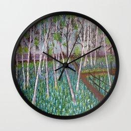 Birch Haven Wall Clock