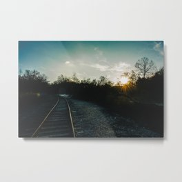 Mead's Quarry Railroad Metal Print