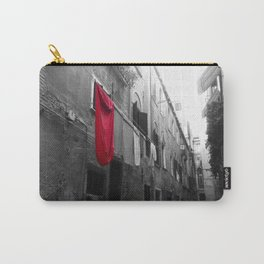 """Superman""""s Laundry Day in Venice, Italy Carry-All Pouch"""
