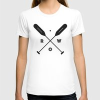 rowing T-shirts featuring Rowing x Oars by K Michelle