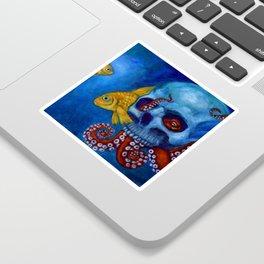 Hermit Octopus Sticker
