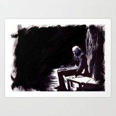 The Great Death of Wisborg Art Print