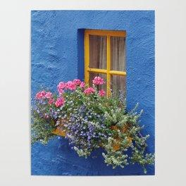 Blue House -Ireland Poster