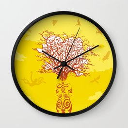 Infinite love now Wall Clock