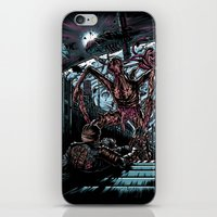 lee pace iPhone & iPod Skins featuring The Dead's Pace by WarrenRB
