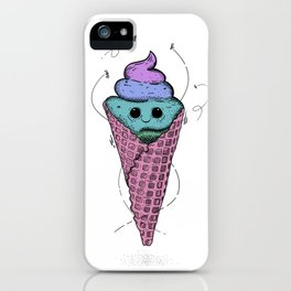Sweet mondays be like iPhone Case
