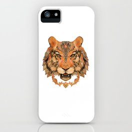 Boho Tribal Tiger iPhone Case