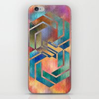 infinite iPhone & iPod Skins featuring Infinite by Blank & Vøid