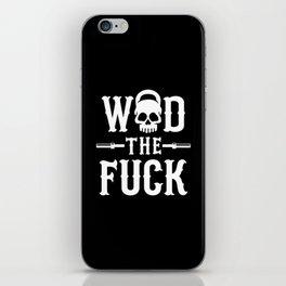 WOD The Fuck? iPhone Skin
