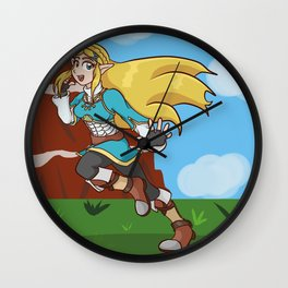 Princess of the Wild Wall Clock
