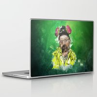 walter white Laptop & iPad Skins featuring Walter White  by Madows
