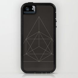 Geometric Dark iPhone Case