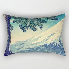 After the Snows in Sekihara Rectangular Pillow