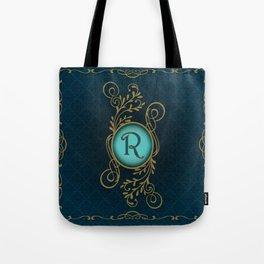 Monogram R Tote Bag