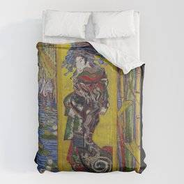 "Vincent van Gogh, "" Courtesan- after Eisen "" Comforters"