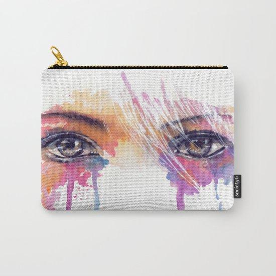 Rainbow Tears Carry-All Pouch