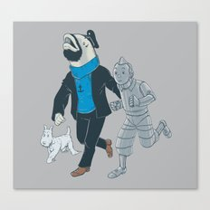 The Literal Adventures of... Canvas Print