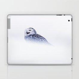 SNOWY OWL IN SNOW Laptop & iPad Skin