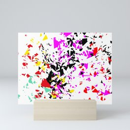 Scatter 1 Mini Art Print