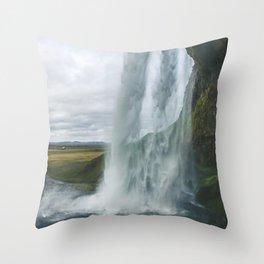 Raining Water Throw Pillow