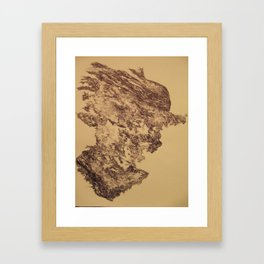 Out of the Box (The Emergence of Thought) Framed Art Print