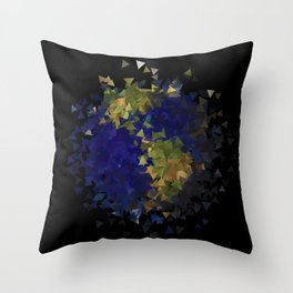 This Shattered Earth Throw Pillow