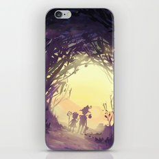 fairy forest iPhone & iPod Skin