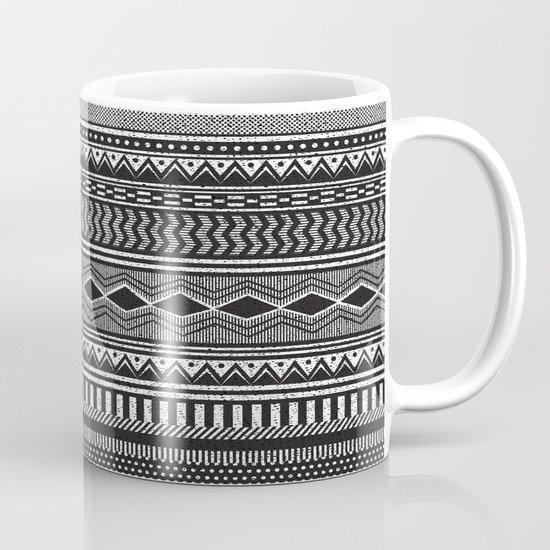 Ethnic Black Mug