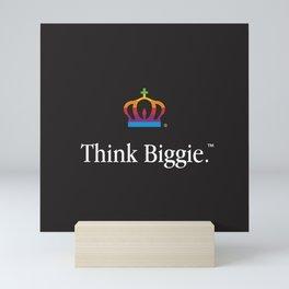 THINK BIGGIE Mini Art Print