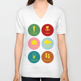 Wes Anderson Unisex V-Neck