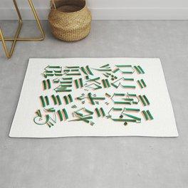 MIND & SOUL Calligraphy  Rug