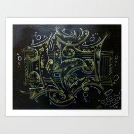 Opus 1530 Art Print