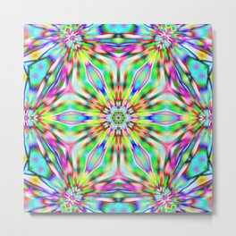 Kaleidoscope 02 Metal Print