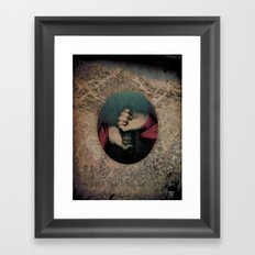 maybe if we stay together Framed Art Print