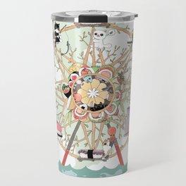 The Sushi Wheel Travel Mug