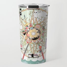 The Sushi Wheel Travel Mug