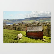 View of Robin Hoods Bay Canvas Print