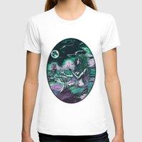 mythology T-shirts featuring Mermaid Siren Pearl of atlantis mythology by Scott Jackson Monsterman Graphic