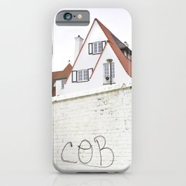 Hidden Houses And Lost Graffiti iPhone Case