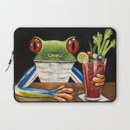 """""""Bloody Mary"""" - Frogs After five collection Laptop Sleeve"""