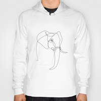quibe Hoodies featuring Elephant line by quibe