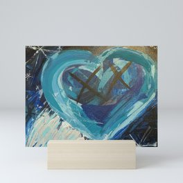 Cold Hearted Mini Art Print